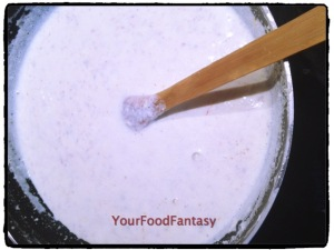 Almond Milk Prepration at YourFoodFantasy.com