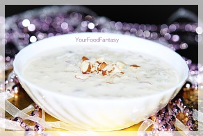 sabudana kheer at your food fantasy by meenu gupta