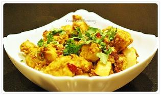 masala arbi recipe at your food fantasy by meenu gupta