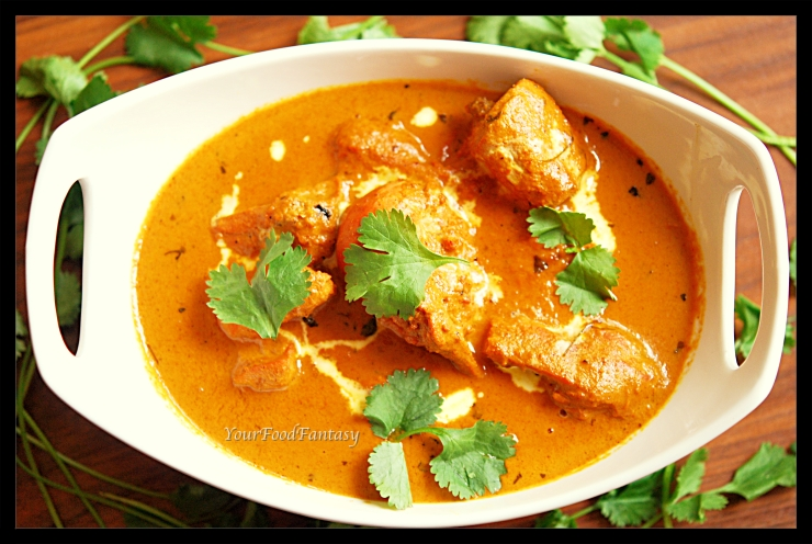 Butter chicken receipe at yourfoodfantasy.com by meenu-gupta