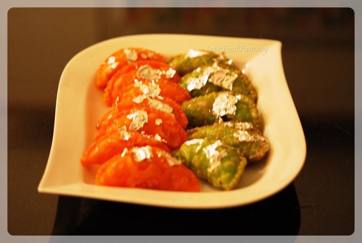 dry fruit-gujiya recipe by meenu gupta | yourfoodfantasy