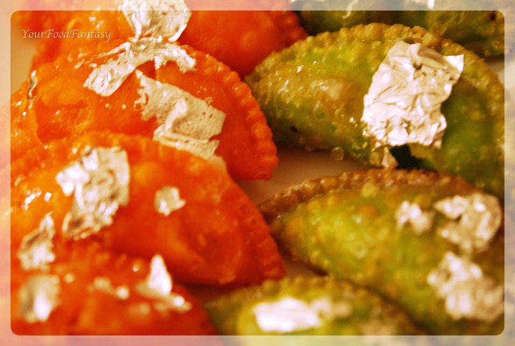 dryfruit gujiya recipe by meenu gupta | yourfoodfantasy