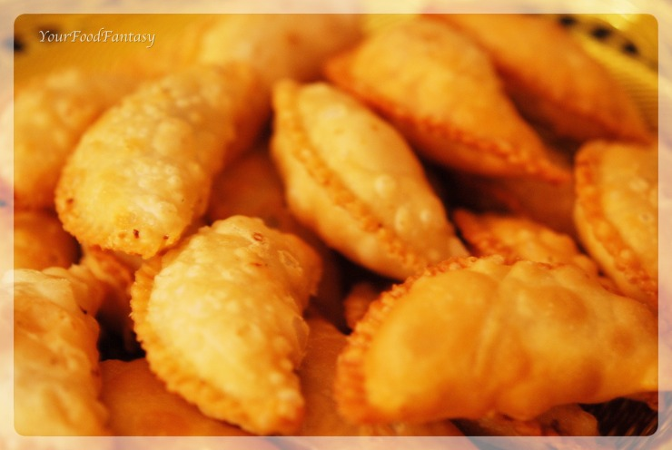 Gujiya-recipe by meenu gupta | yourfoodfantasy