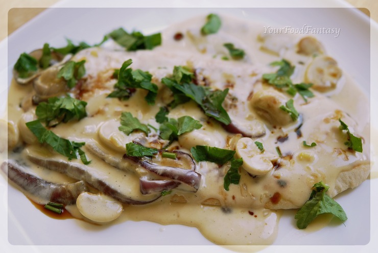 bruschetta con funghi recipe | yourfoodfantasy.com by meenu gupta