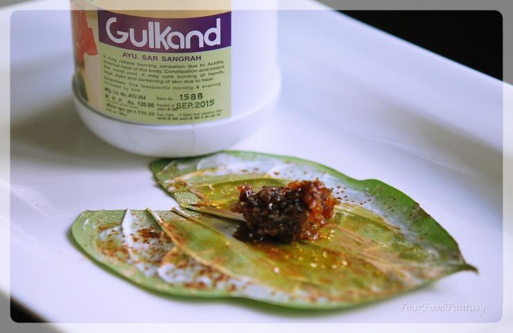 Gulkand paan making | betel recipe | paan recipe | yourfoodfantasy by meenu gupta