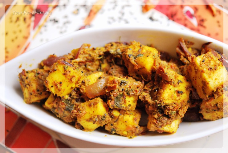 masala paneer recipe | yourfoodfantasy.com by meenu gupta