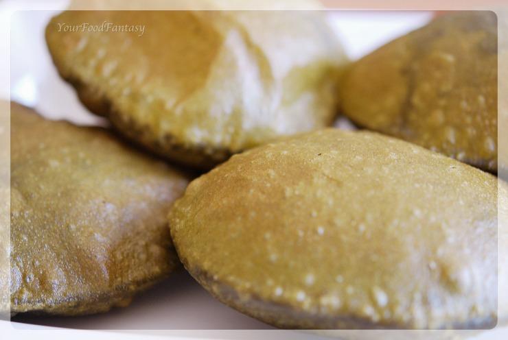 Palak Puri recipe | YourFoodFantasy.com by Meenu Gupta