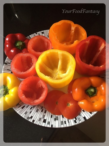 Bellpepper and Tomato for Gemista Recipe