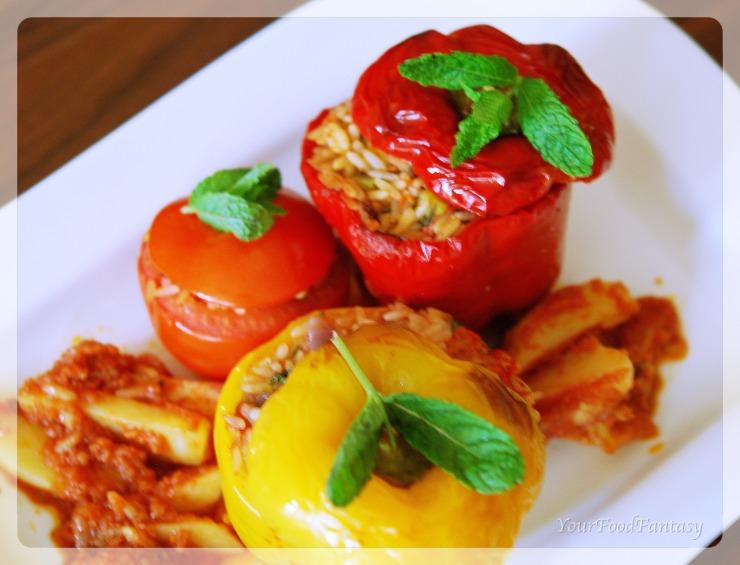 Gemista recipe   yemista recipe
