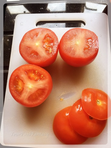 Tomatoes for yemista recipe | YourFoodFantasy