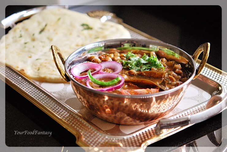 Chana Masala Recipe | YourFoodFantasy.com by Meenu Gupta