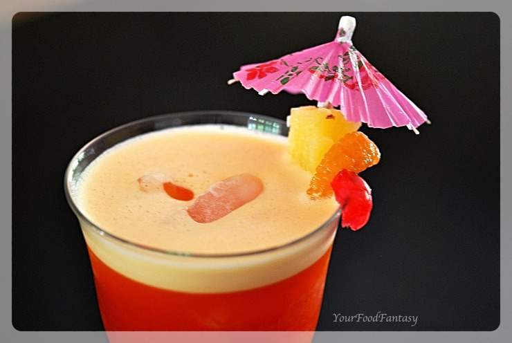 Fruit Punch Mocktail Recipe | YourFoodFantasy.com
