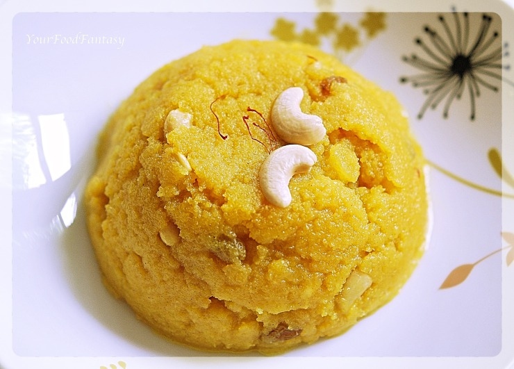 Moong Dal Halwa Recipe | YoourFoodFantasy