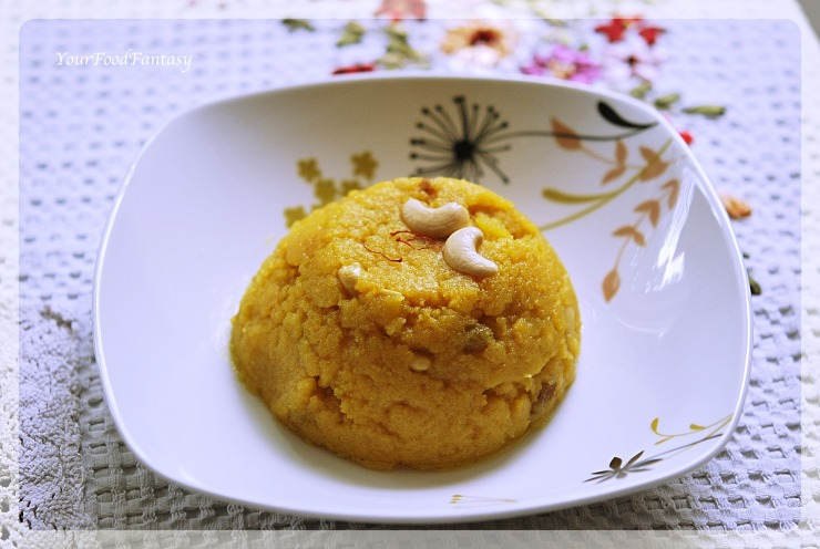 Moong Dal Halwa Recipe | Your Food Fantasy