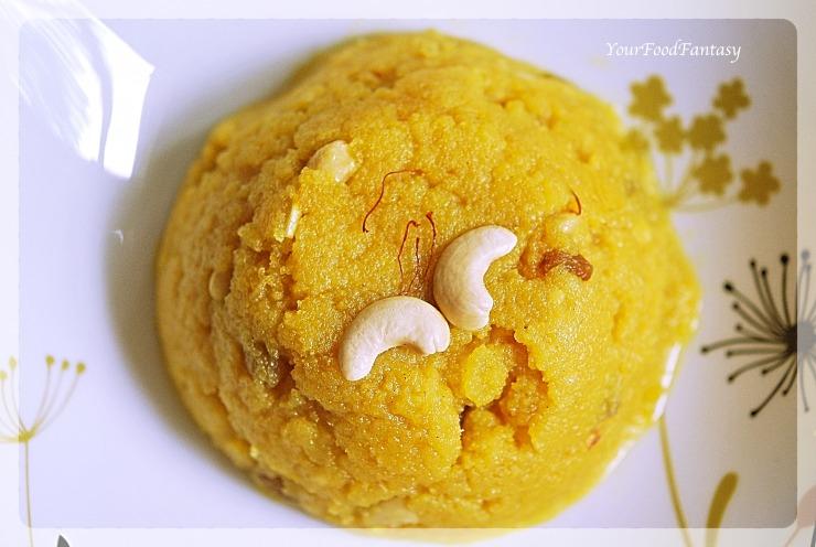 How to make moong dal halwa