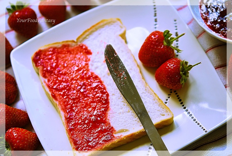 Strawberries converted into jam | YourFoodFantasy.com By Meenu Gupta