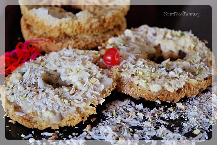 Ghevar Recipe | YourFoodFantasy.com by Meenu Gupta