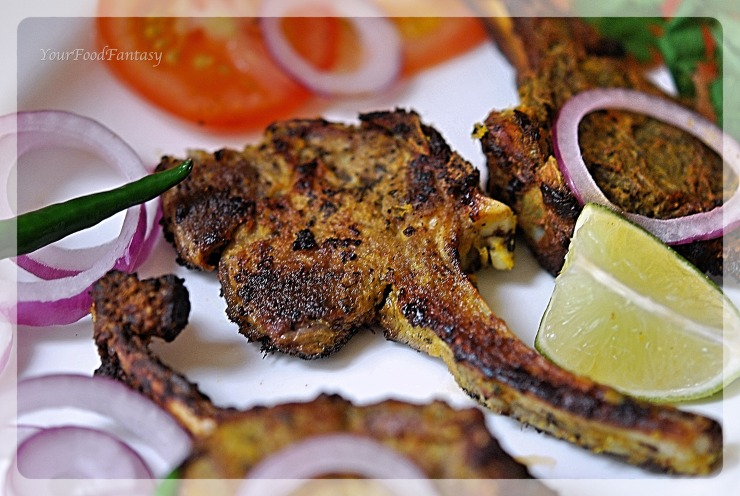 Lamb Chops Recipe | YourFoodFantasy.com by Meenu Gupta