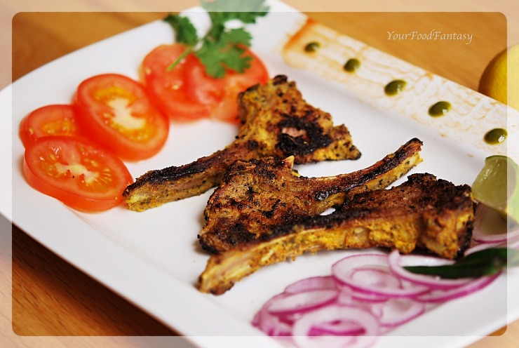 Lamb Chops | YourFoodFantasy.com by Meenu Gupta