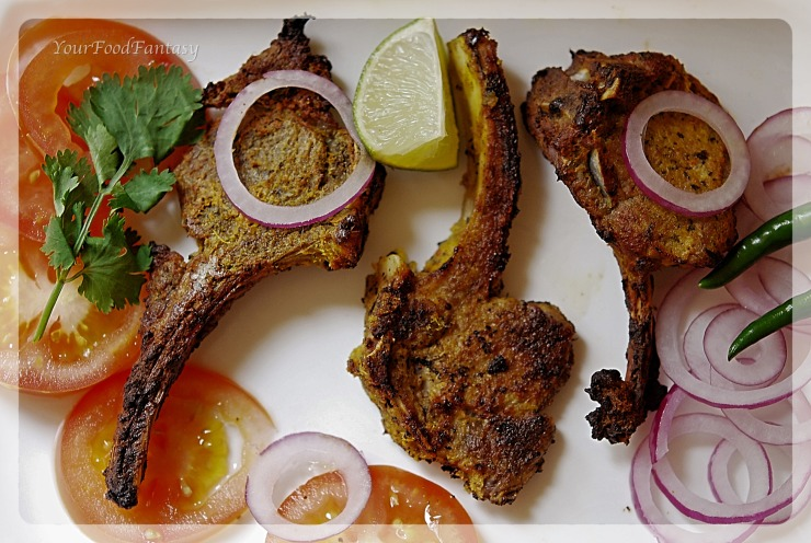 Lamb Chops Recipe - YourFoodFantasy.com