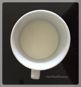 Milk for Ghevar Recipe | YourFoodFantasy.com