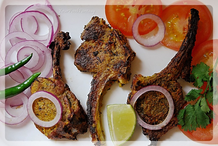 Mutton Chops Recipe at YourFoodFantasy.com