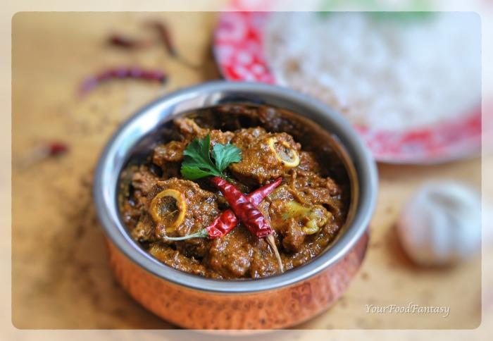 Achari Mutton | Achari Lamb Recipe | YourFoodFantasy.com