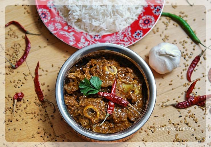 Achari Gosht | YourFoodFantasy.com by Meenu Gupta