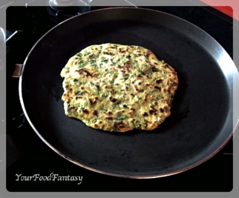 Fenugreek Paratha Recipe | Fenugreek Recipes | YourFoodFantasy.com