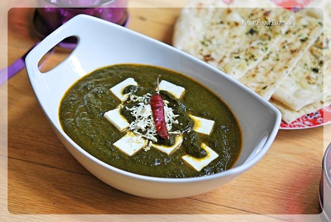 Palak Paneer Recipe | Your Food Fantasy by Meenu Gupta