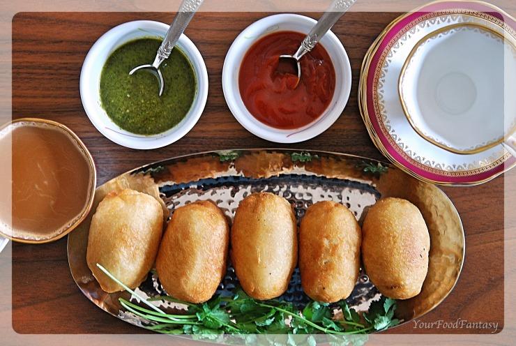 Stuffed Bread Roll | YourFoodFantasy.com
