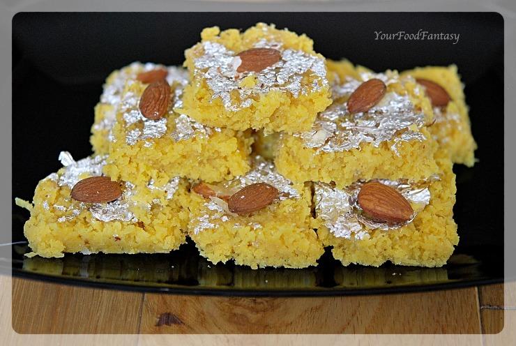 How to Make Fresh Nariyal Barfi   Your Food Fantasy
