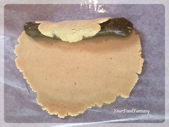 Kaju Pista Roll Recipe | Cashew Pistachio Fudge