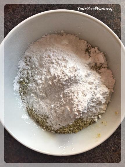 Pistachio and Suger Mixed | Kaju Pista Roll