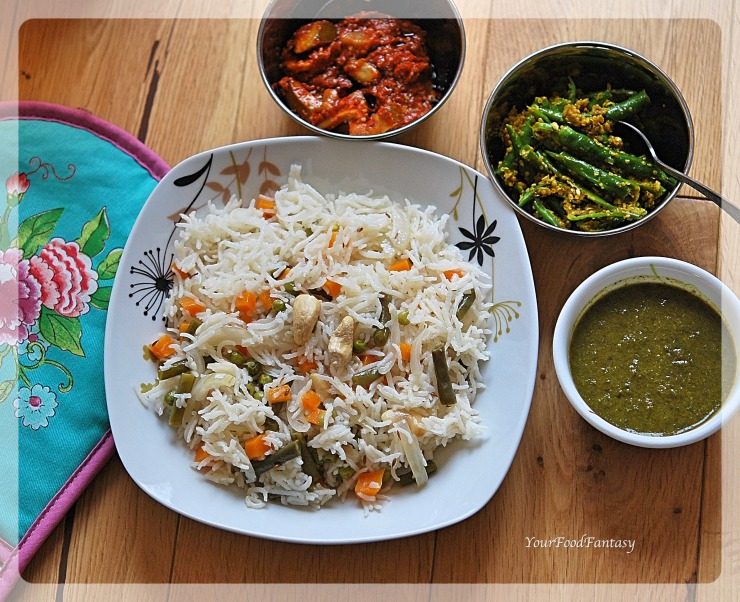 Vegetable Pulao | Pulao Rice | Your Food Fantasy by Meenu Gupta