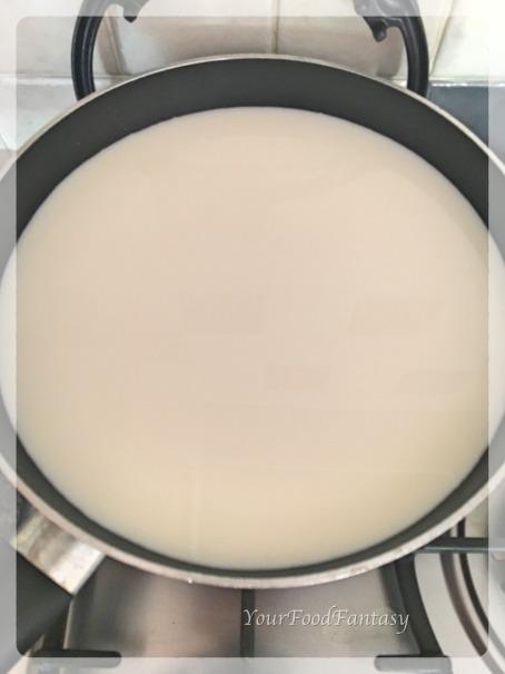 Milk for making Fresh Paneer   Your Food Fantasy
