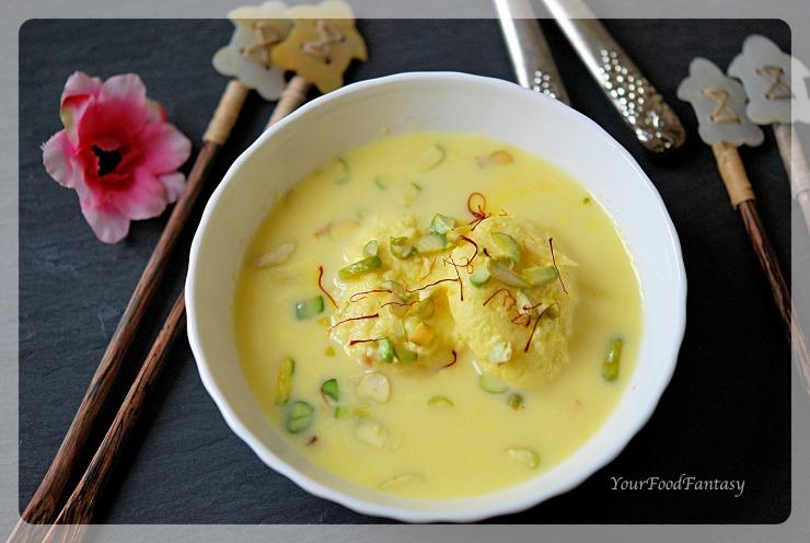 How to make Rasmalai at Home | YourFoodFantasy.com