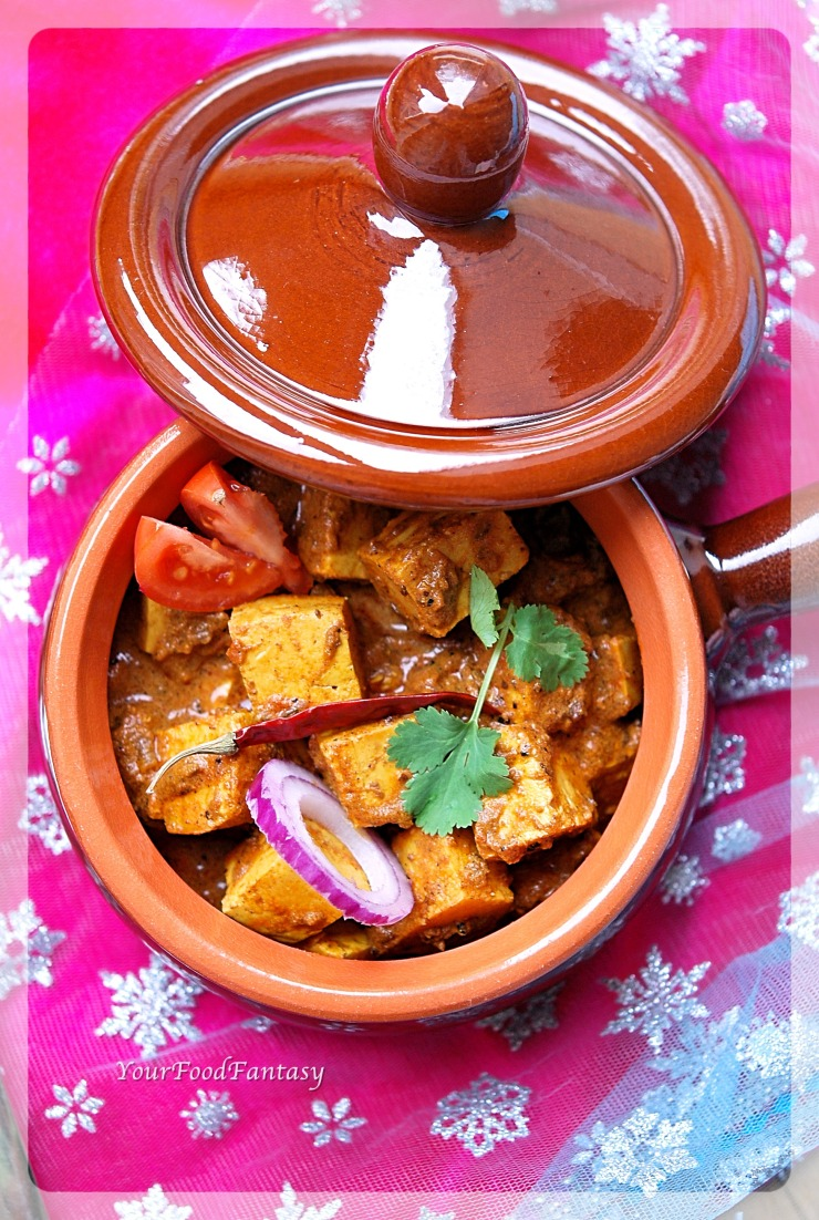 Achari Paneer Recipe | Your Food Fantasy.com