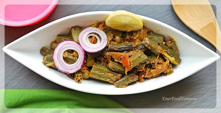 Bhindi Do Pyaza Recipe   Indian Curry   Your Food Fantasy