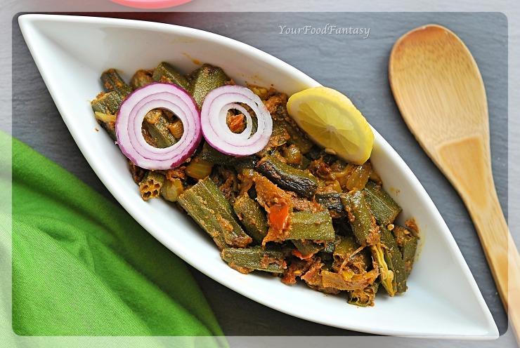 Bhindi Ke Sabji   Bhindi Do Pyaza   YourFoodFantasy.com