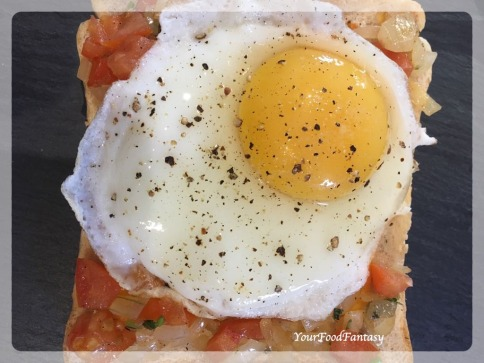 Iranian Cafe | Egg Kejriwal | Your Food Fantasy