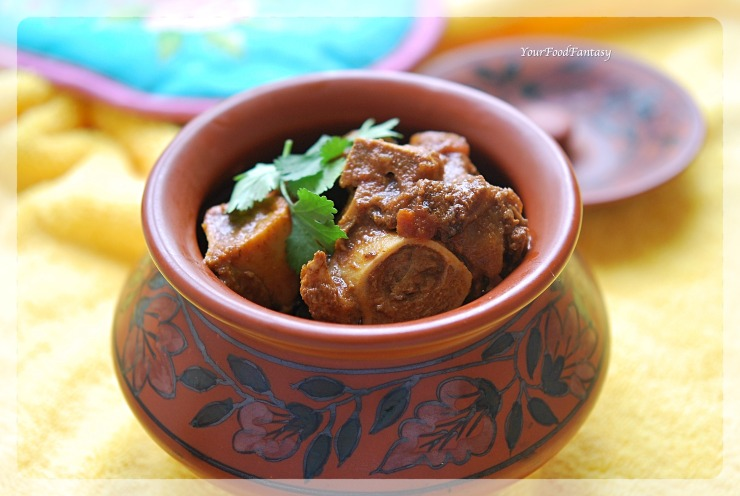 Handi Gosht Recipe | Mutton Stew | YourFoodFantasy.com