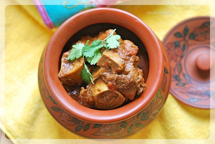 Handi Gosht Recipe   Lamb Stew   Your Food Fantasy by Meenu Gupta