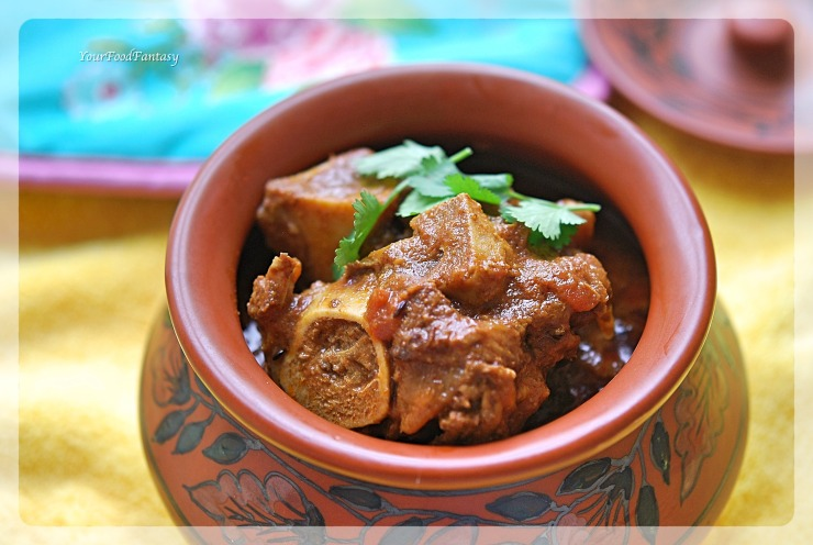 Handi Gosht Recipe | Lamb Stew | YourFoodFantasy.com by Meenu Gupta