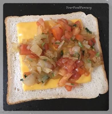 Iranian Cafe | Egg Kejriwal Recipe | Your Food Fantasy