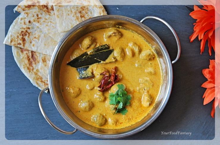 Mushroom Tikka Masala   Mushroom Curry   Indian Curry