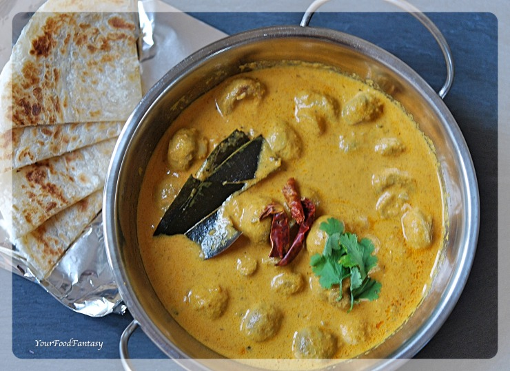 Mushroom Tikka Masala   Mushroom Curry   Your Food Fantasy