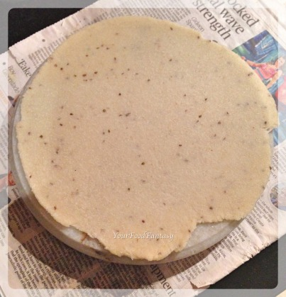 Rolled Dough for Papdi   Papdi Recipe   Your Food Fantasy