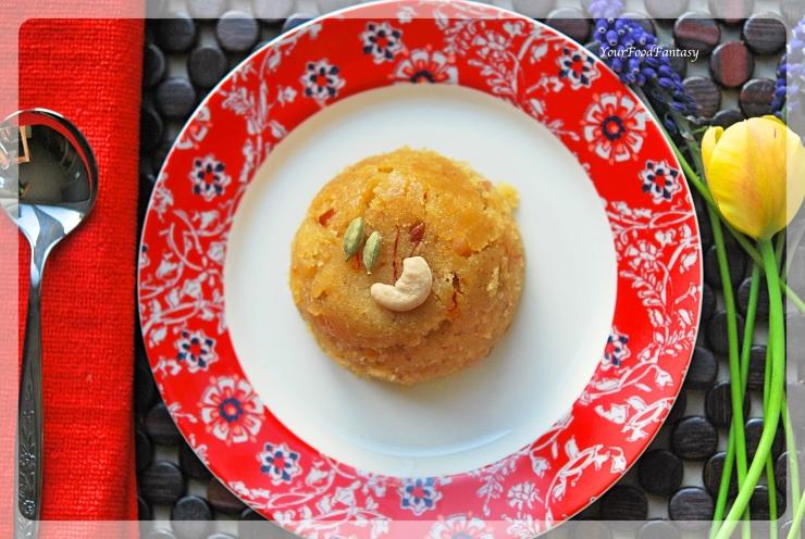 Sooji Halwa Recipe | Indian Dessert | YourFoodFantasy.com